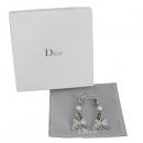 Dior(크리스챤디올) D 로고 진주 리본 장식 은장 귀걸이 [대구반월당본점]