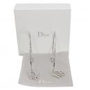 Dior(크리스챤디올) D 로고 장식 은장 귀걸이 [대구반월당본점]
