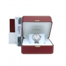 Cartier(까르띠에) W69012Z4 BALLON BLEU(발롱블루) 42mm L사이즈 오토매틱 스틸 남성용 시계 + 여분가죽밴드 [부산센텀본점]