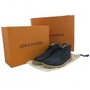 Louis Vuitton(루이비통) 후면 LV로고 장식 네이비 컬러 남성용 앵클 부츠 [대구동성로점]