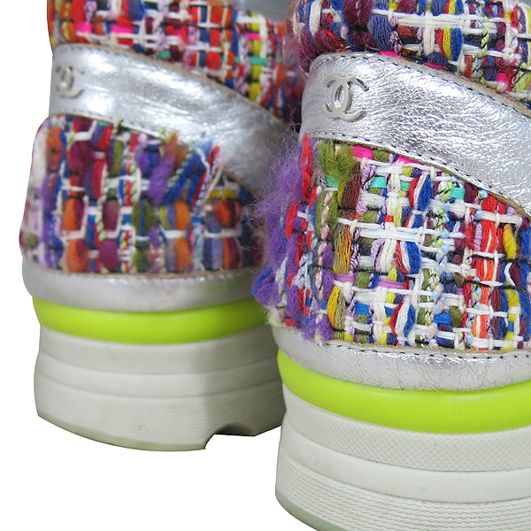 Chanel(샤넬) G30442 멀티 컬러 트위드 여성용 스니커즈 [대구동성로점] 이미지5 - 고이비토 중고명품