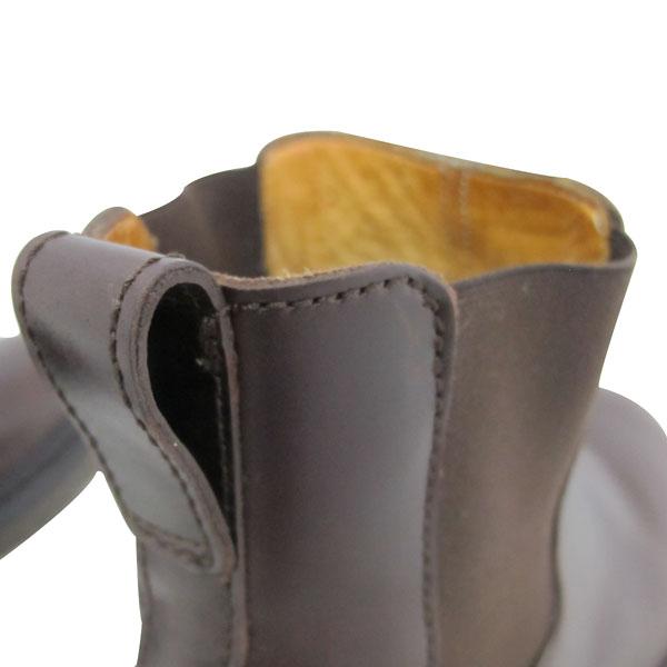 APC(아페쎄) 브라운 컬러 레더 여성용 첼시 부츠 [대구반월당본점] 이미지6 - 고이비토 중고명품