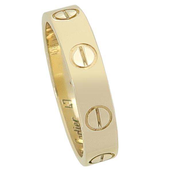 Cartier(까르띠에) B4085047 18K 옐로우 골드 미니 러브링 반지 - 7호 [강남본점] 이미지2 - 고이비토 중고명품
