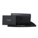 SAINT LAURENT PARIS(생로랑파리) 400409 블랙 레더 로고 장식 클러치 [대구반월당본점]