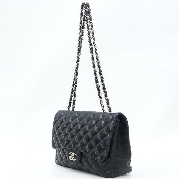 Chanel(샤넬) A58600Y01295 램스킨 클래식 점보 사이즈 은장 체인 숄더백 [강남본점] 이미지2 - 고이비토 중고명품