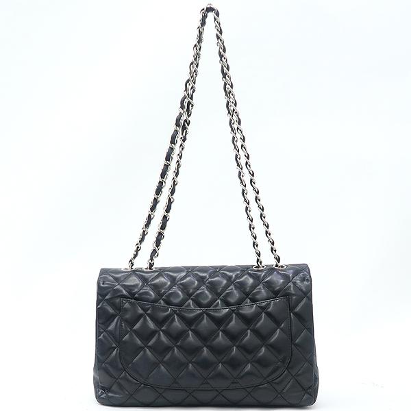 Chanel(샤넬) A58600Y01295 램스킨 클래식 점보 사이즈 은장 체인 숄더백 [강남본점] 이미지3 - 고이비토 중고명품