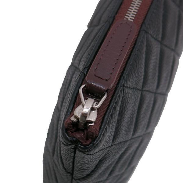 Chanel(샤넬) A69251 캐비어 블랙 은장 로고 L사이즈 클러치백 [인천점] 이미지4 - 고이비토 중고명품