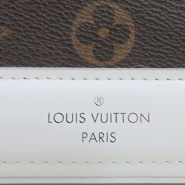 Louis Vuitton(루이비통) M50296 모노그램 캔버스 Dora(도라) PM 화이트 토트백 + 숄더 스트랩 2WAY [부산센텀본점] 이미지4 - 고이비토 중고명품