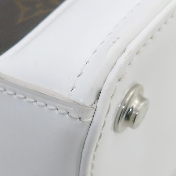 Louis Vuitton(루이비통) M50296 모노그램 캔버스 Dora(도라) PM 화이트 토트백 + 숄더 스트랩 2WAY [부산센텀본점] 이미지7 - 고이비토 중고명품