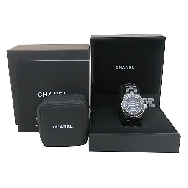 Chanel(샤넬) H0685 J12 38MM 블랙 세라믹 오토매틱 데이트 남성용시계 [부산센텀본점]