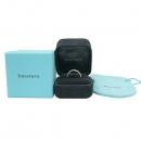 Tiffany(티파니) PT950(플래티늄) + 18K 옐로우골드 콤비 밀그레인 3MM 반지 -23호 [부산센텀본점]