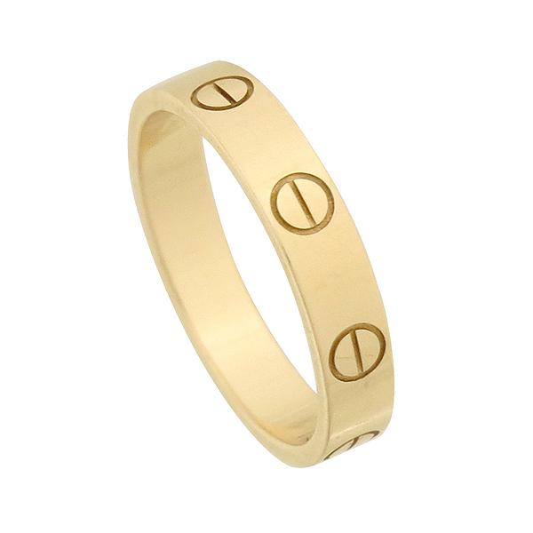 Cartier(까르띠에) B4085252 18K 핑크 골드 미니 러브링 반지 [강남본점] 이미지2 - 고이비토 중고명품