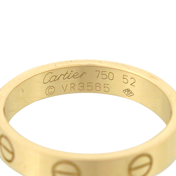 Cartier(까르띠에) B4085252 18K 핑크 골드 미니 러브링 반지 [강남본점] 이미지3 - 고이비토 중고명품