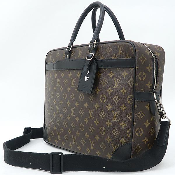 Louis Vuitton(루이비통) M40224 모노그램 마카사르 캔버스 포르테 다큐먼트 보야지 GM 토트백+숄더스트랩 [강남본점] 이미지2 - 고이비토 중고명품