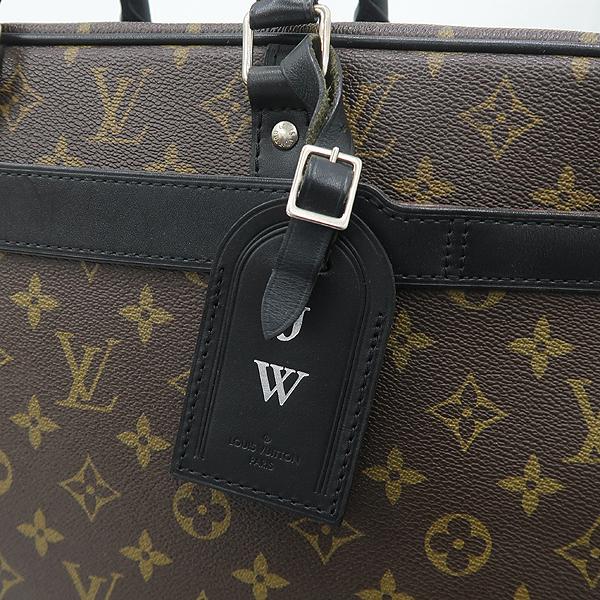 Louis Vuitton(루이비통) M40224 모노그램 마카사르 캔버스 포르테 다큐먼트 보야지 GM 토트백+숄더스트랩 [강남본점] 이미지3 - 고이비토 중고명품