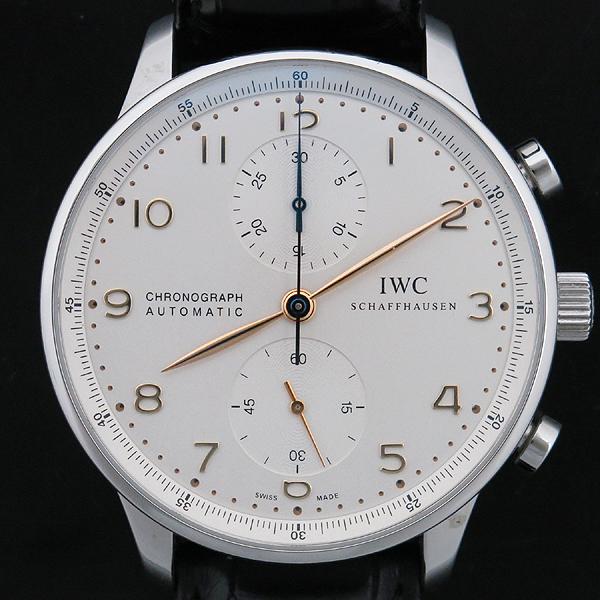 IWC(아이더블유씨) IW371445 Portuguese(포르투기스) 오토매틱 골드 핸즈 크로노그래프 남성용 시계 [인천점] 이미지2 - 고이비토 중고명품