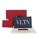 VALENTINO(발렌티노) RW2P0605RCHCG4 네이비 컬러 VANT 로고 동전 카드지갑 [대구반월당본점]