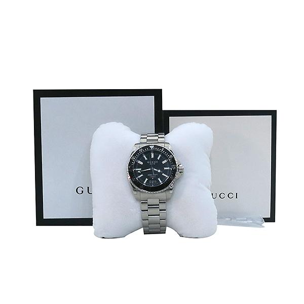 Gucci(구찌) YA136301 40MM 다이브 쿼츠 스틸 남성용 시계 [부산센텀본점]