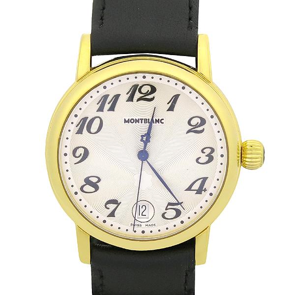 Montblanc(몽블랑) 7042 금장 마이스터스튁 라운드 스틸 36MM 남여공용 시계 [강남본점] 이미지2 - 고이비토 중고명품