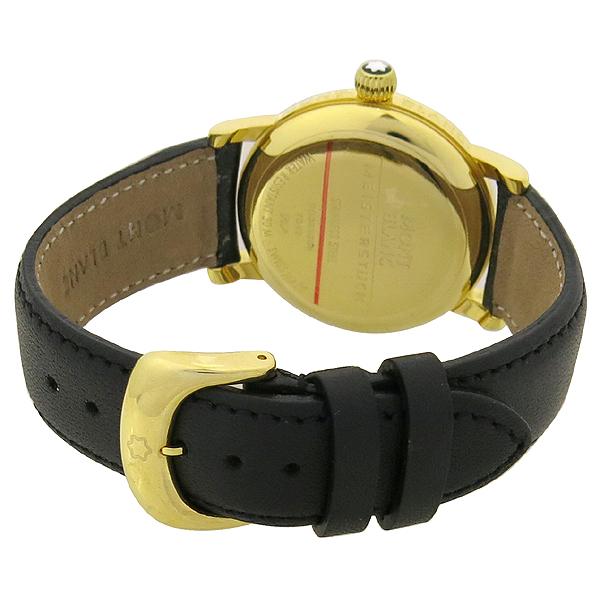 Montblanc(몽블랑) 7042 금장 마이스터스튁 라운드 스틸 36MM 남여공용 시계 [강남본점] 이미지4 - 고이비토 중고명품