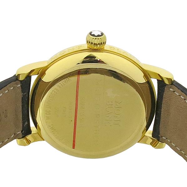 Montblanc(몽블랑) 7042 금장 마이스터스튁 라운드 스틸 36MM 남여공용 시계 [강남본점] 이미지5 - 고이비토 중고명품