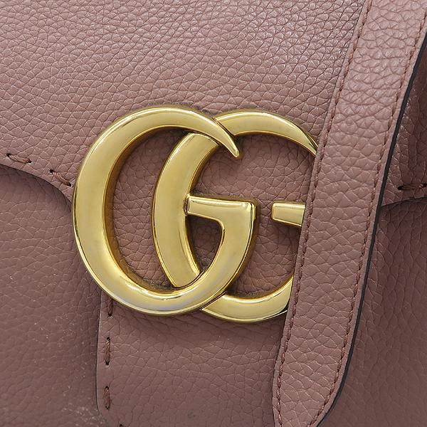 Gucci(구찌) 421890 엔틱로즈 컬러 GG Marmont(마몬트) 금장 로고 토트백 + 숄더스트랩 2WAY [잠실점] 이미지3 - 고이비토 중고명품