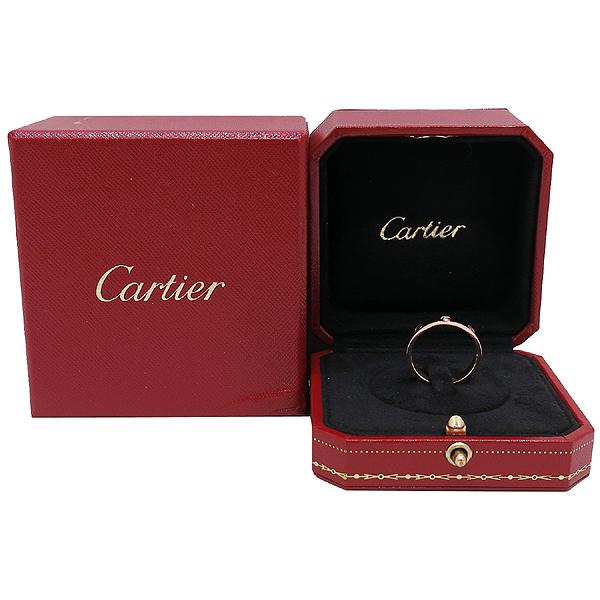 Cartier(까르띠에) B4056158 18K 옐로우 골드 1포인트 다이아 미니 러브링 반지 [인천점]