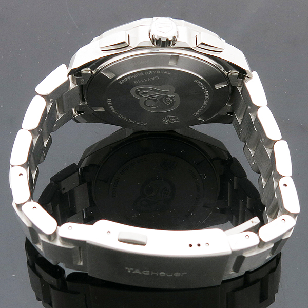 Tag Heuer(태그호이어) CAY111B AQUARACER 아쿠아레이서 블루 다이얼 크로노그래프 쿼츠 스틸 남성용시계 [인천점] 이미지4 - 고이비토 중고명품