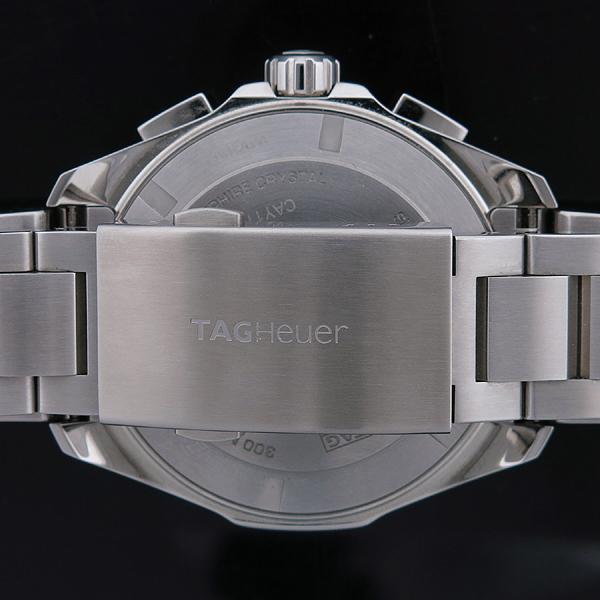 Tag Heuer(태그호이어) CAY111B AQUARACER 아쿠아레이서 블루 다이얼 크로노그래프 쿼츠 스틸 남성용시계 [인천점] 이미지6 - 고이비토 중고명품