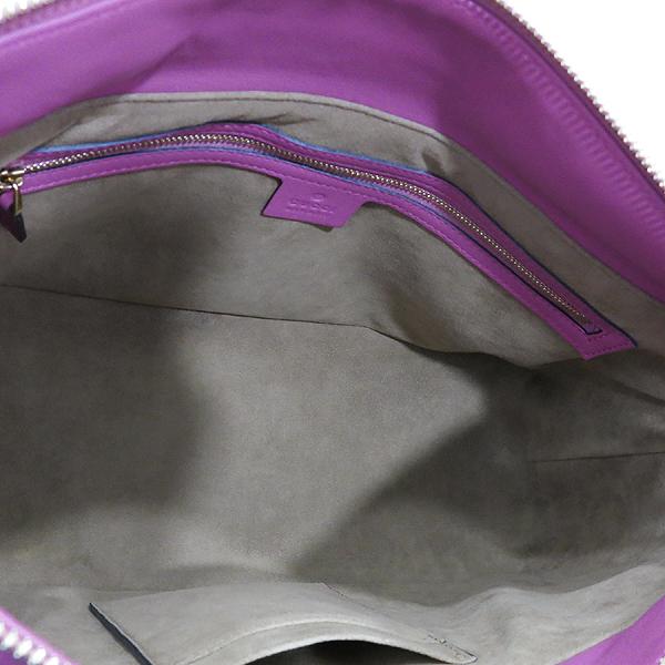 Gucci(구찌) 409533 핑크 레드 투톤 레더 GG 슈프림 캔버스 토트백 + 숄더 스트랩 [인천점] 이미지7 - 고이비토 중고명품