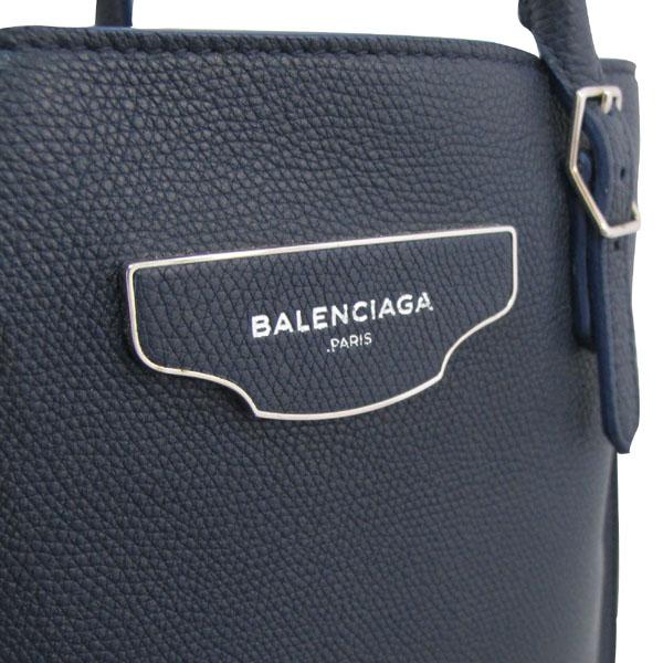 Balenciaga(발렌시아가) 420212 PAPIER(파피에르) 네이비 컬러 토트백 + 보조거울 [대구반월당본점] 이미지5 - 고이비토 중고명품