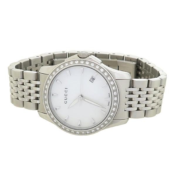 Gucci(구찌) 126.5 G-TIMELESS 베젤 다이아 여성용 스틸 시계 [강남본점] 이미지2 - 고이비토 중고명품