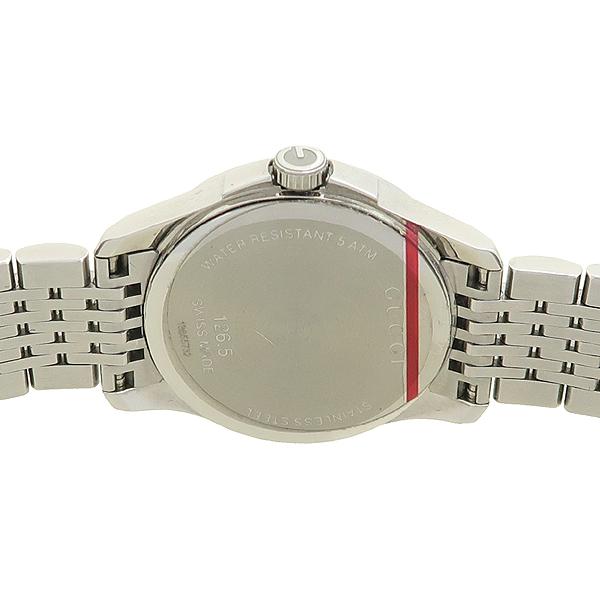 Gucci(구찌) 126.5 G-TIMELESS 베젤 다이아 여성용 스틸 시계 [강남본점] 이미지4 - 고이비토 중고명품