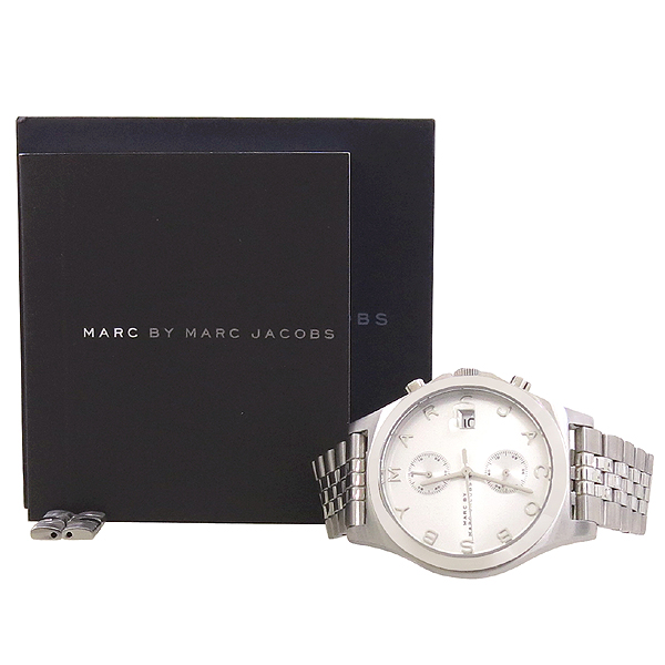 Marc by Marc Jacobs(마크바이마크제이콥스) MBM3378 레이디디스 크로노 남성용 스틸 시계 [잠실점]