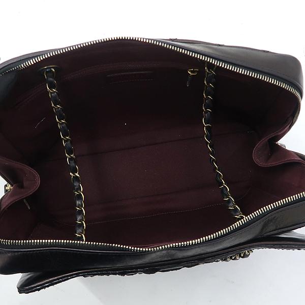 Chanel(샤넬) 블랙 컬러 파이손 카프 레더 혼방 어반 믹스 금장 체인 숄더백 [강남본점] 이미지5 - 고이비토 중고명품