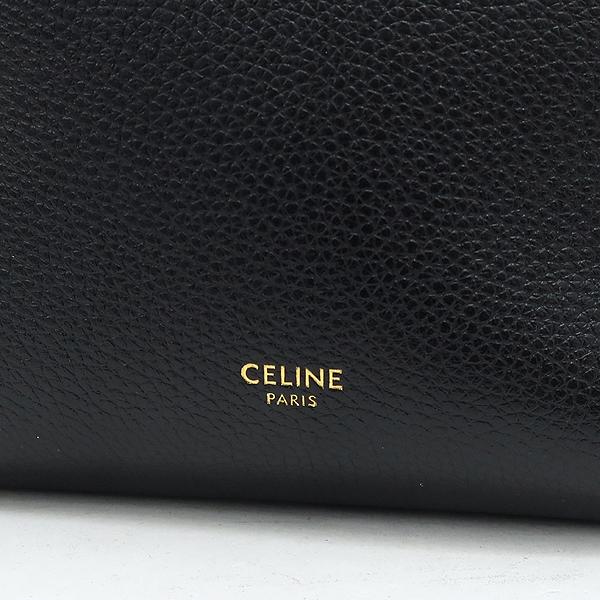 Celine(셀린느) 189303AH 블랙 레더 SANGLE(상글) 스몰 사이즈 숄더백 [강남본점] 이미지4 - 고이비토 중고명품