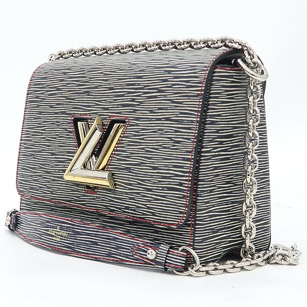 Louis Vuitton(루이비통) M50272 에삐 다크 데님 컬러 트위스트 MM 시그니처 LV 트위스트 락 체인 플랩 크로스백 [강남본점] 이미지2 - 고이비토 중고명품