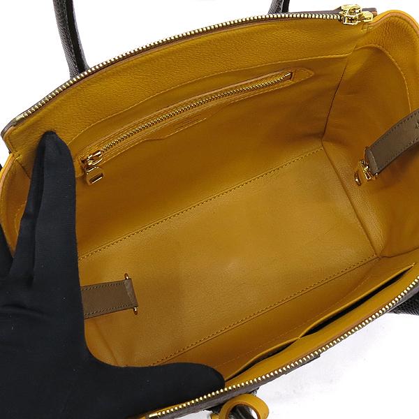 Louis Vuitton(루이비통) N91285 모노그램 캔버스 EX.PY.B (오스트리치,리자드,그로 그랭 레더) 혼방 MAJES(마제스튀) PM 토트백 [강남본점] 이미지5 - 고이비토 중고명품