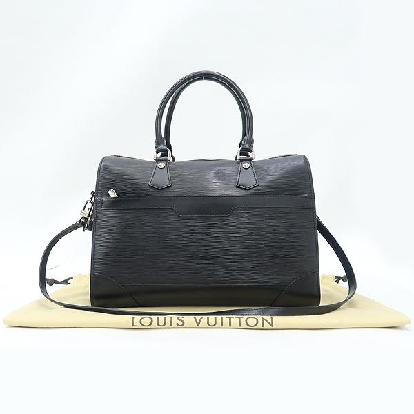 Louis Vuitton(루이비통) M42392 블랙 컬러 에삐 Bourget (부켓) 토트백 + 숄더스트랩 [강남본점]
