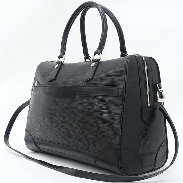 Louis Vuitton(루이비통) M42392 블랙 컬러 에삐 Bourget (부켓) 토트백 + 숄더스트랩 [강남본점] 이미지3 - 고이비토 중고명품