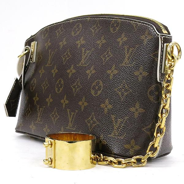Louis Vuitton(루이비통) M40596 모노그램 캠버스 화이트 디테일 골드메탈 브레이슬릿 LOCKIT 락킷 클러치[시즌컬렉션] [강남본점] 이미지2 - 고이비토 중고명품