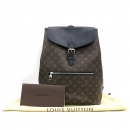 Louis Vuitton(루이비통) M40637 모노그램 마카사르 캔버스 포크 파크 백팩 [강남본점]