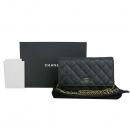 Chanel(샤넬) A33814Y01864 캐비어스킨 블랙 컬러 WOC(월릿 온 체인) 금장로고 체인 크로스백 [동대문점]