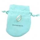 Tiffany(티파니) 18K 핑크 골드 Tiffany&Co 라운드 로고 브릴리언트 3포인트 다이아 3MM 반지 - 9호 [강남본점]