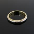 Tiffany(티파니) PT950(플래티늄) + 18K 옐로우골드 콤비 밀그레인 3MM 반지 - 22.5호 [대구동성로점]