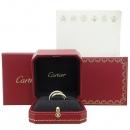 Cartier(까르띠에) B4038952 18K 삼색골드 Trinity ring, classic 클래식 트리니티 풀 다이아 링 반지 - 12호 [강남본점]