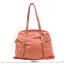 Prada(프라다) 핑크 빈티지 은장 로고 VITELLO SHINE(비텔로 샤인) 숄더백 [강남본점]