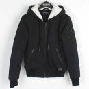 MOOSEKNUCKLES(무스너클) 17FMK7592LH290XS 칼링턴 블랙 컬러 여성용 후드 집엎 자켓 [잠실점]