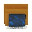 Louis Vuitton(루이비통) N60174 다미에 그라피트 블루 픽셀 포쉐트 보야주 클러치 [부산센텀본점]