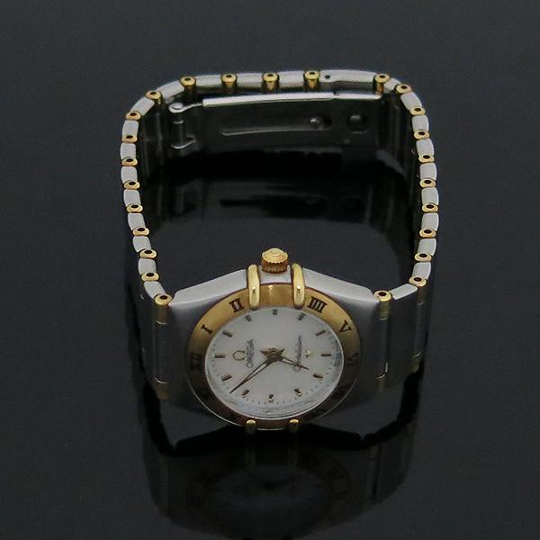 Omega(오메가) 18K 콤비 CONSTELLATION(컨스틸레이션) 하프바 자개판 여성용 시계 [부산센텀본점] 이미지2 - 고이비토 중고명품